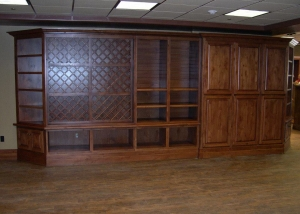 CUSTOM COUNTRY CLUB CABINETS/COUNTERTOPS
